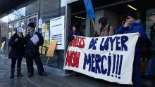 Action du BAIL devant la Régie du logement le 2 février.